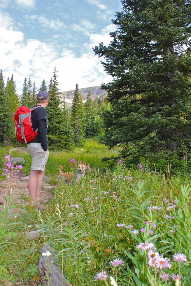Indian Peaks Wilderness Trail - Josh and olive kathmandu hiking backpack
