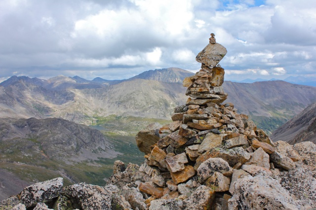 Large enough cairn