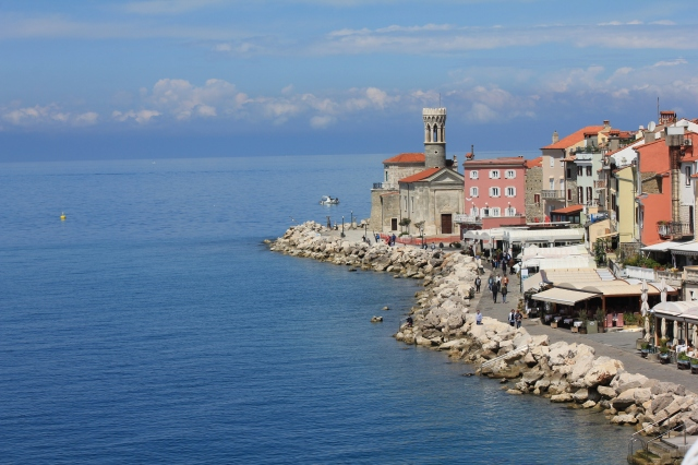 Piran Hotel - view from balcony 3