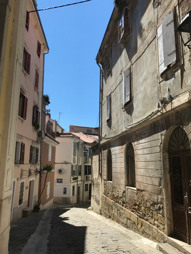 Piran - old city streets 1